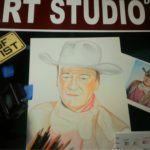 Colored-Pencil-John-Wayne